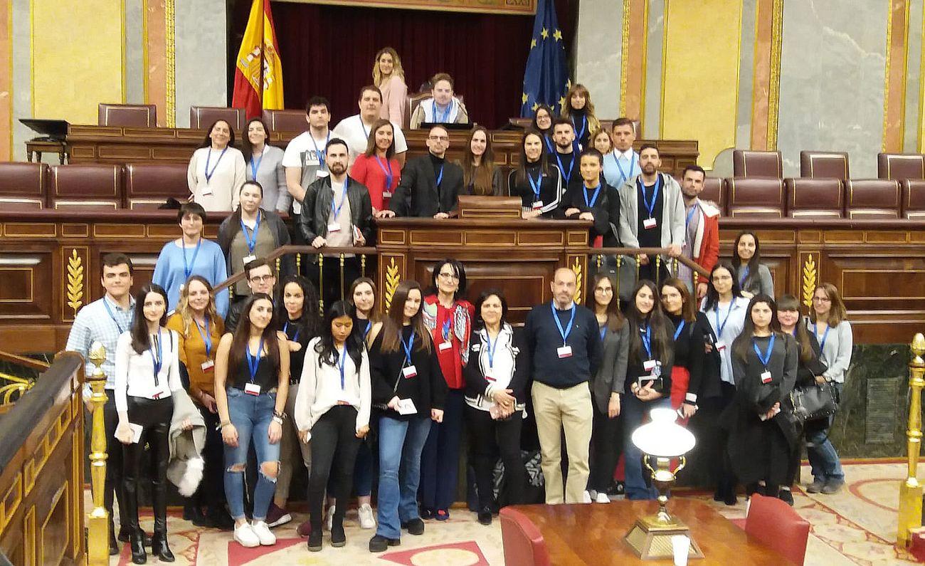Visita de alumnos al Congreso y el Senado
