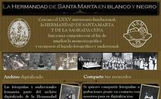 La Hermandad de Santa Marta, en blanco y negro