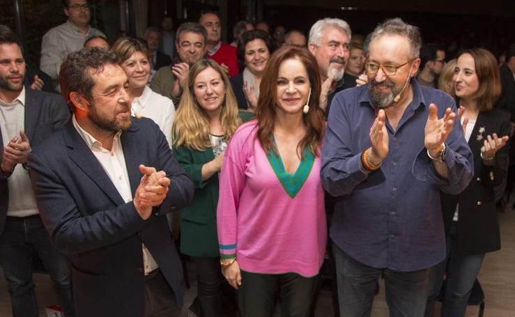 Silvia Clemente participa en el cierre de campaña de las primarias de Ciudadanos a la Junta