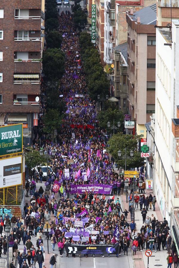 Manifestación del 8-M en Ponferrada