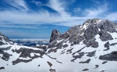 La Aemet prevé riesgo limitado de aludes en Picos de Europa