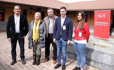 Javier Alfonso Cendón para el Congreso, Salvador Vidal para el Senado y Nuria Rubio para las Cortes encabezan las candidaturas del PSOE