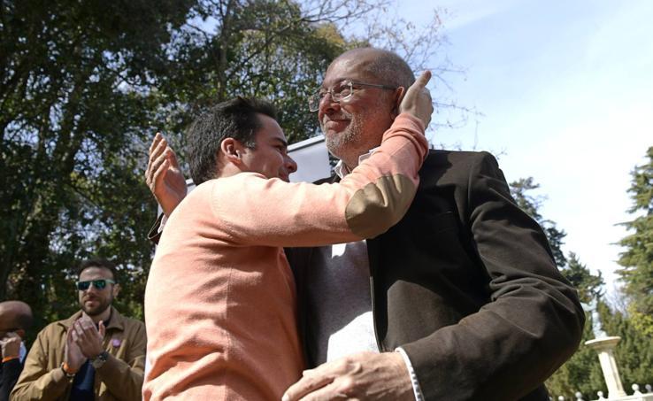 Francisco Igea comparece ante los medios para reconocer la victoria de Silvia Clemente