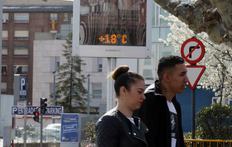 La Aemet prevé una «montaña rusa» de temperaturas durante los próximos diez días en Castilla y León