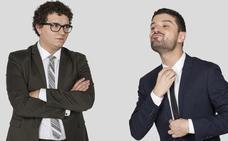 Los cómicos Facu Díaz y Miguel Maldonado llegan a León para 'No meterse en política'