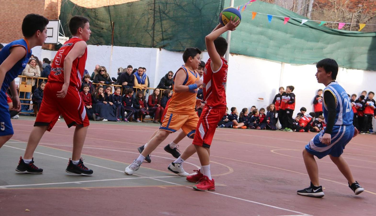 La final del Torneo de Minibasket del Colegio Leonés