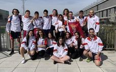 El CN León, bronce en el Campeonato de Castilla y León Junior