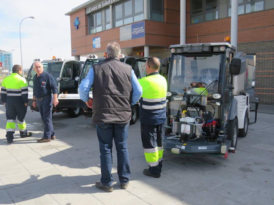 Nuevas máquinas adquiridas por el Ayuntamiento de León