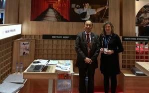 Ponferrada estrecha contactos con Japón en la Feria y Bolsa de Turismo de Lisboa