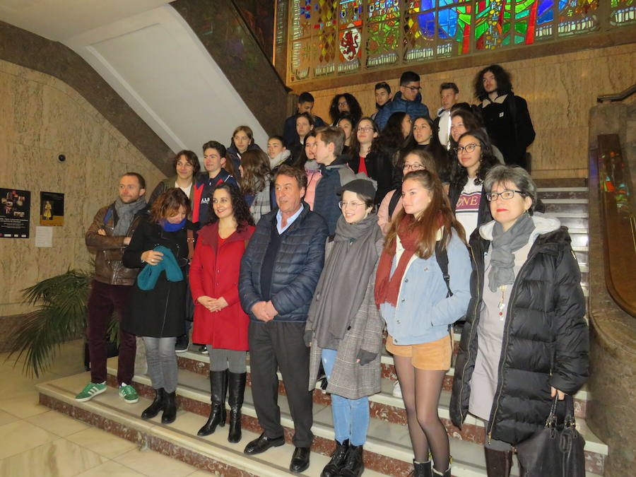 Desde Francia hasta León para estudiar