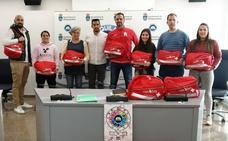 Villaquilambre dona 17 botiquines solidarios con la recaudación de la XIX San Silvestre