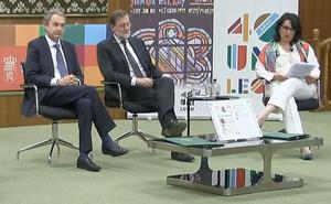 leonoticias.tv | Así ha sido el encuentro de Rodríguez Zapatero y Mariano Rajoy en la Universidad