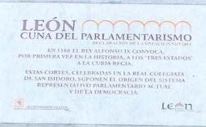El Congreso de los Diputados reconoce las Cortes del Reino de León como la cuna del Parlamentarismo