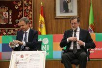 Zapatero-Rajoy, mano a mano en León