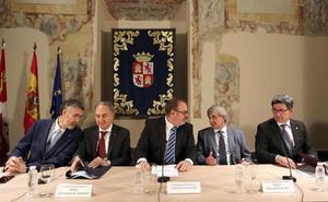 Un consorcio aunará los esfuerzos en internacionalización de las cuatro universidades públicas de Castilla y León