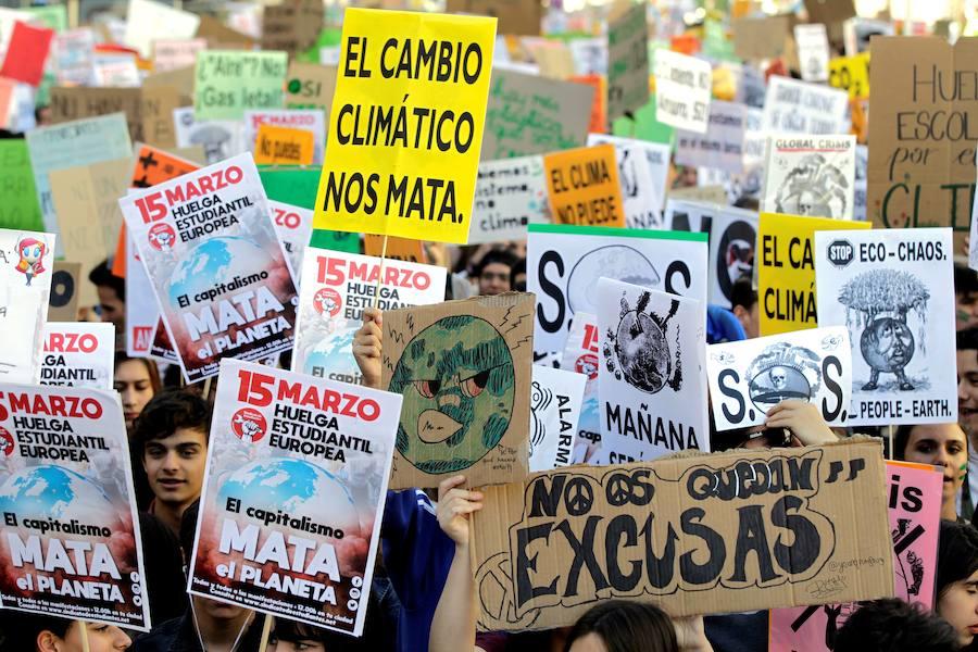 Movilización mundial de los jóvenes contra el cambio climático