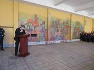 Un mural, con mucha historia