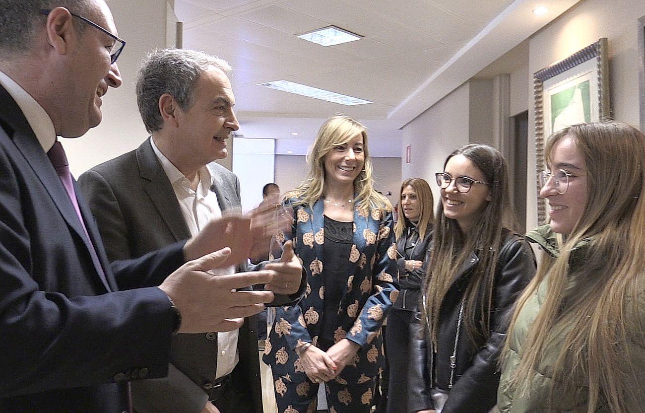 Zapatero, en leonoticias