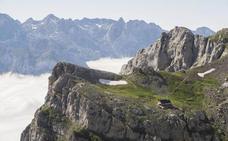 Nueve refugios y un anillo para disfrutar de la inmensidad de los Picos de Europa