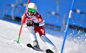 La leonesa Raquel Martínez brilla en la Copa del Mundo de Esquí Alpino Adaptado