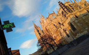 La semana comenzará con un descenso de temperaturas en León