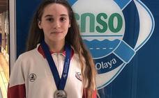 Ariadna Puertas, subcampeona de España infantil en 50 metros libres