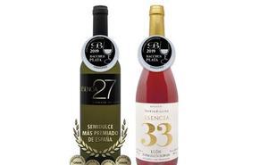Dos medallas de plata para las Bodegas Meóriga en el Concurso Internacional de Vinos Bacchus 2019