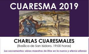 San isidoro organiza un nuevo ciclo de Charlas Cuaresmales