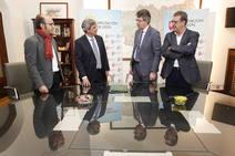 Firma de un convenio de colaboración entre la ULE y la Diputación de León