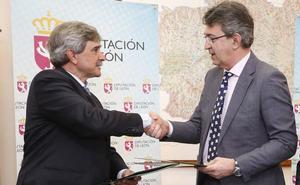 La Diputación apoya a la ULE en la realización de un estudio sobre problemas fitosanitarios