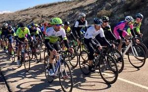 Raúl Barrientos, el mejor del Astorga Cycling Team en el inicio de temporada