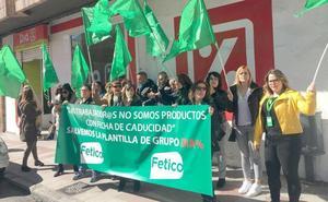 La plantilla de DIA en León inicia sus movilizaciones para evitar el cierre de ocho 'súper' en León