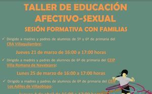 Villaquilambre pone en marcha un programa de 'Educación afectivo-sexual