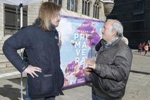 Acto de Podemos 'Va a llegar la primavera' en León