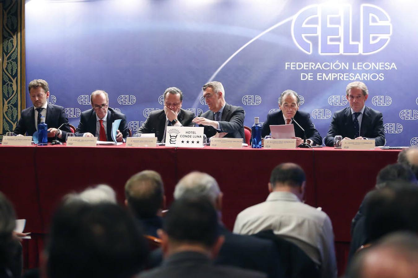 Asamblea general ordinaria de la Federación Leonesa de Empresarios