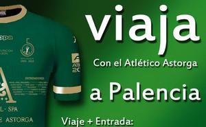 El Atlético Astorga organiza viaje a Palencia