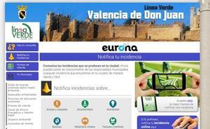 El Ayuntamiento de Valencia de Don Juan implanta un nuevo servicio de comunicación de incidencias a través de app móvil