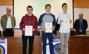 La Ule entrega los premios de las olimpiadas de física, química y biología