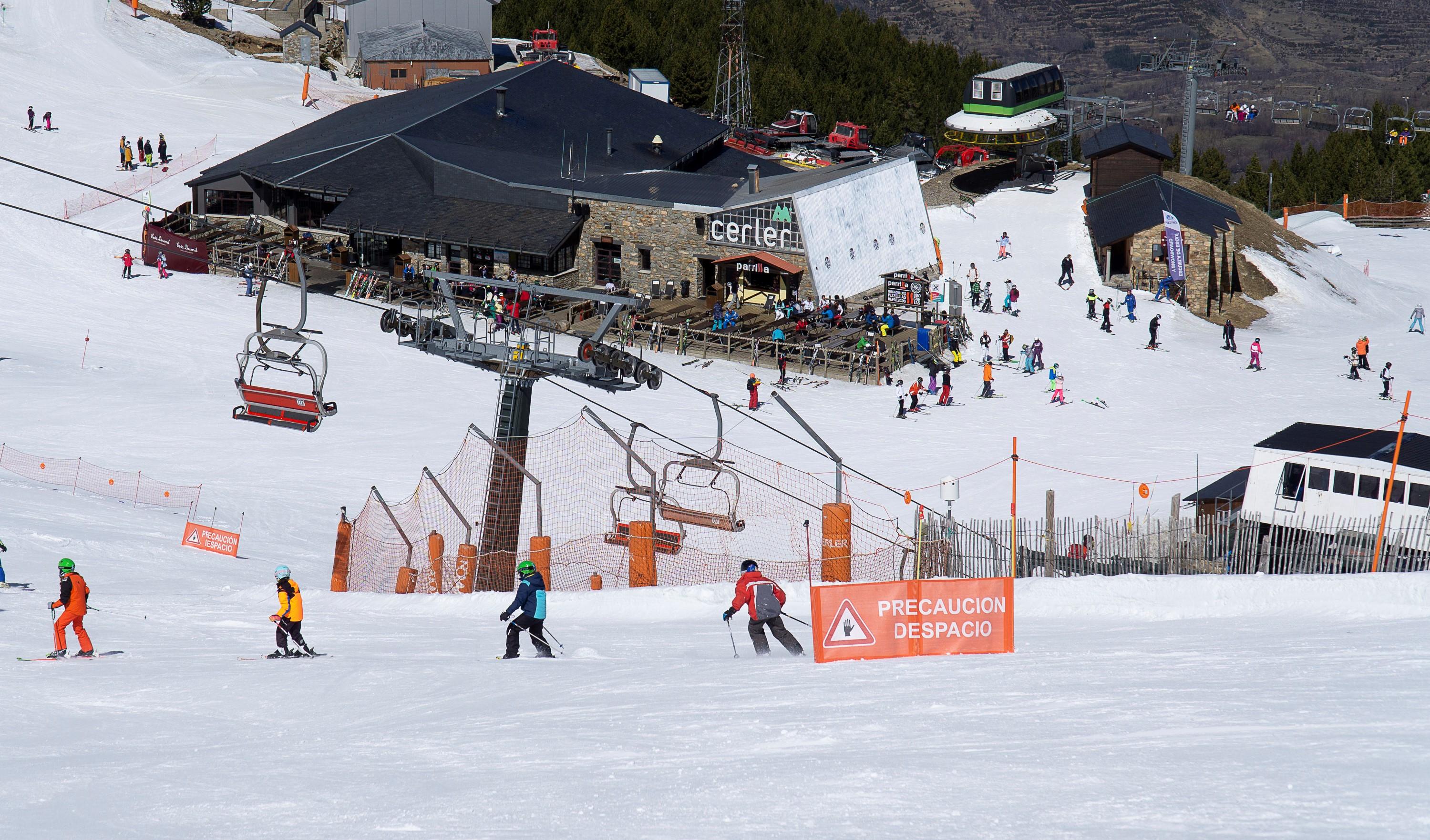 Grandes días de nieve para la pistas de Aramón