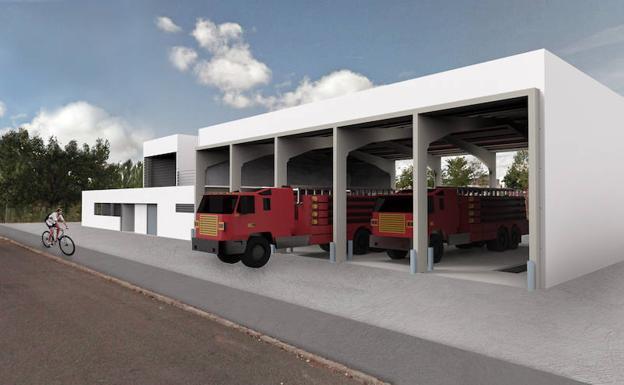La Diputación quiere que las obras de los seis parques de bomberos empiecen este verano
