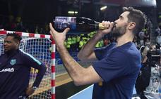 El Barça logra su novena Liga Asobal consecutiva a siete jornadas del final