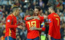 Rodrigo y Morata se entienden
