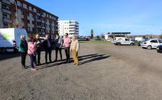 El Ayuntamiento de León mejora el barrio San Pedro Huertas