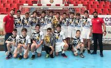 El Ademar infantil arrasa en fase de clasificación del campeonato de Castilla y León