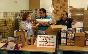 El tercer reparto de Alimentos para la Solidaridad reparte 68.053 kilos y llega 2.792 personas