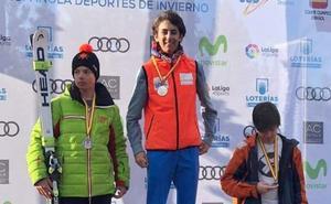 El berciano Pedro González, campeón de España de esquí alpino
