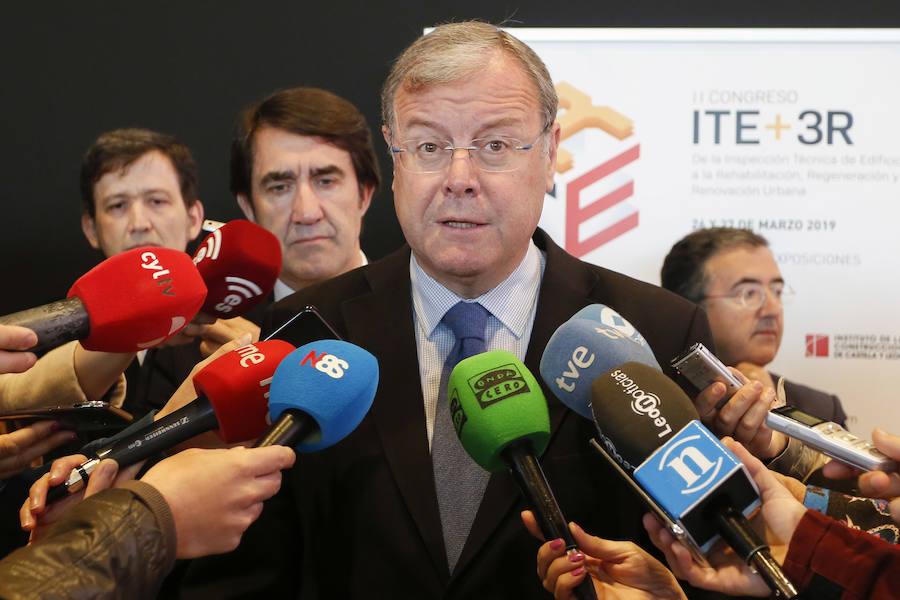 El consejero de Fomento y Medio Ambiente participa en la apertura del II Congreso ITE + 3R