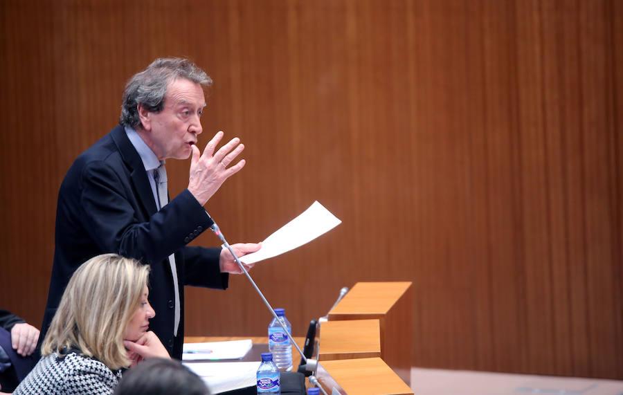 Último pleno de la legislatura en las Cortes de Castilla y León