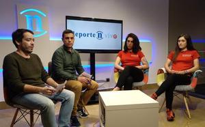 Ziortza Isasi y Paula Sanmartín: «Ojalá llegue este año la primera victoria del Eneicat»