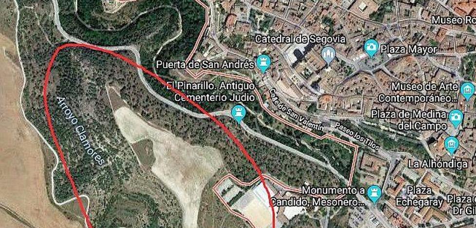 Advierten de la presencia de un exhibicionista en la zona del camino natural del Eresma (Segovia)